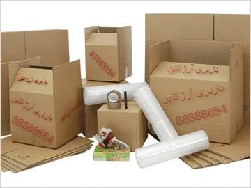 لوازم بسته بندی اثاثیه